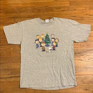 Peanuts Christmas shirt Large